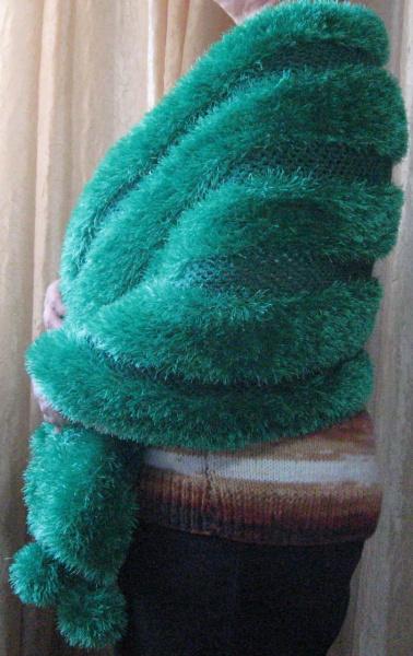 Вязание из пряжа травка
