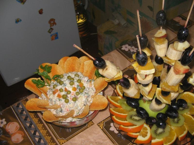 Украшения блюд для праздничного стола своими руками фото