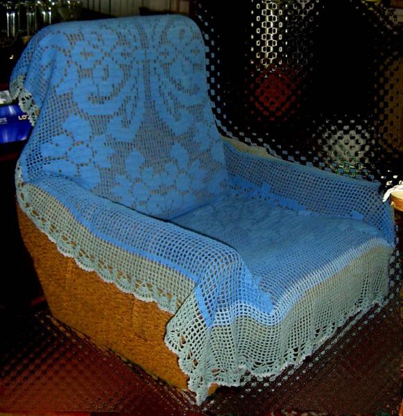 Накидка на кресло кровать