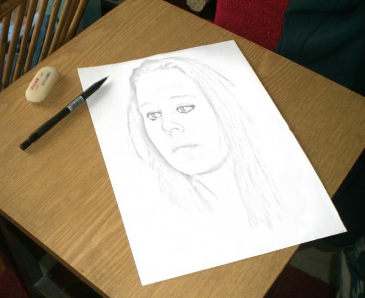 Как из сделать рисунок карандашный