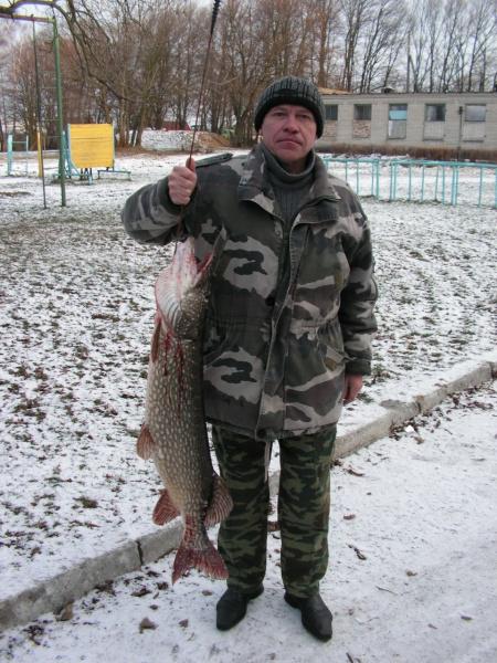 Первая рыба 2010 года