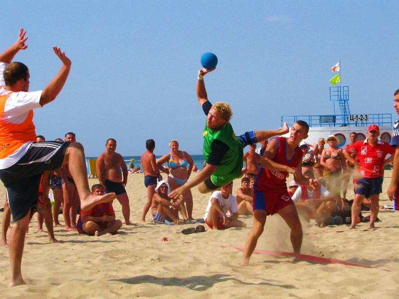 Кубок России по пляжному гандболу