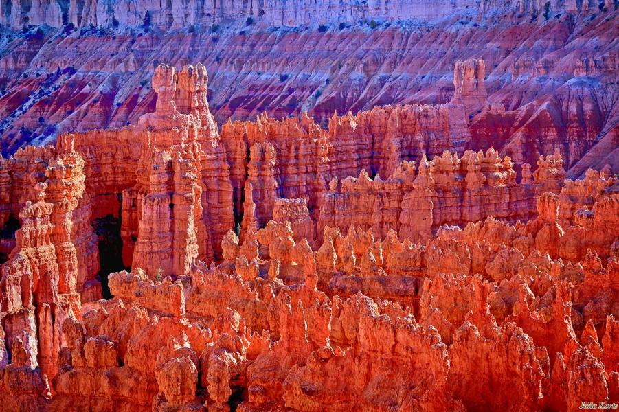 Закат в Брайс каньоне