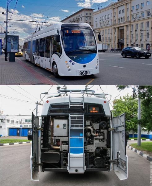 Дуобусы - и троллейбус и автобус
