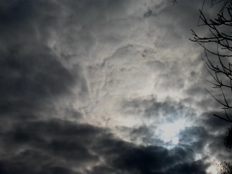 Небо во время Крестного хода