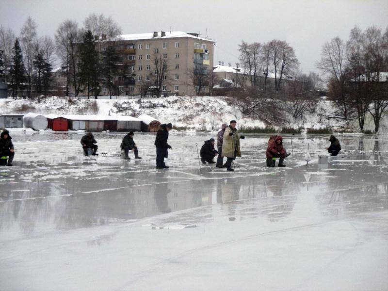 По первому ледку