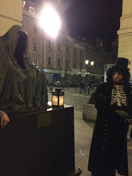 Мистическая Прага. Памятник Командору