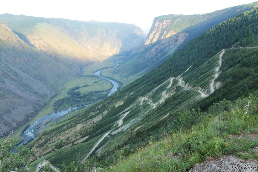 Как называется этот знаменитый перевал-серпантин на Алтае?