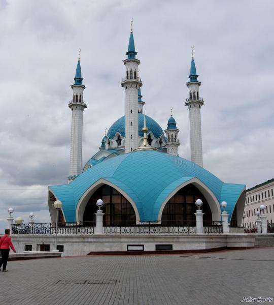 Казанская синяя мечеть.