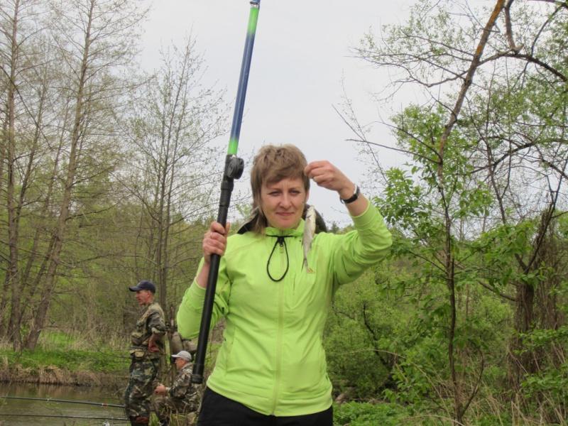 я на рыбалке