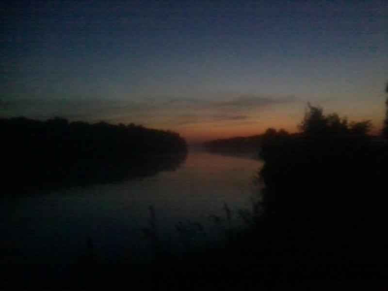 Перед рассветом.