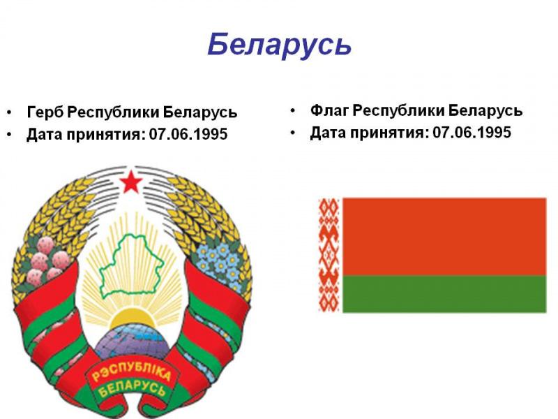 доклад на тему белоруссия 3 класс смену