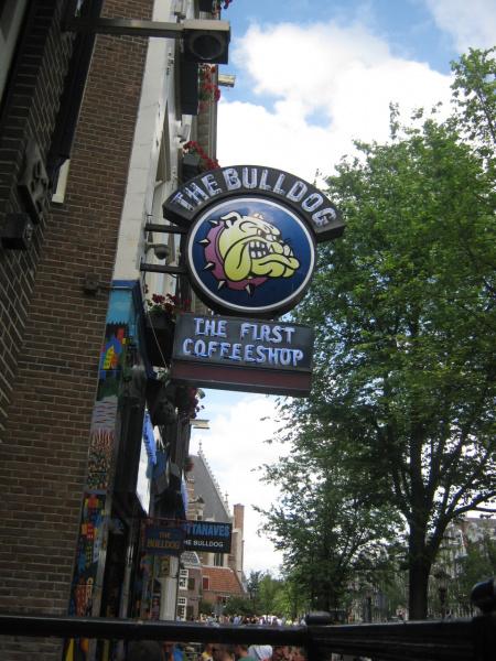 Первый кофе-шоп Амстердама
