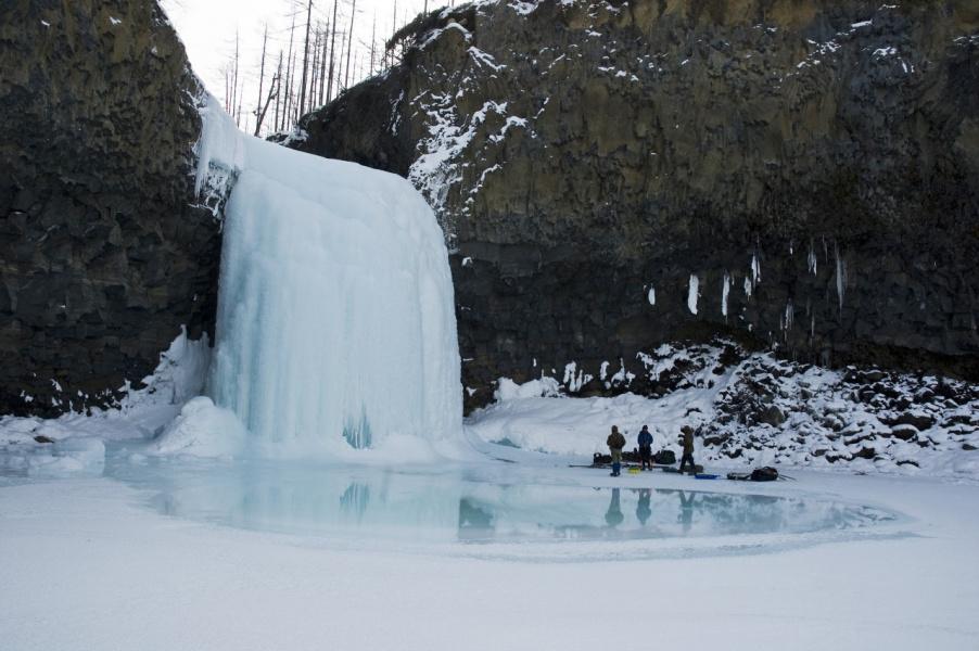 Водопад на р. Сыни