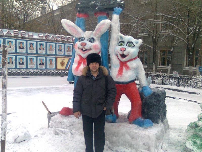 Год кролика на шахте им.Ленина г.Караганда