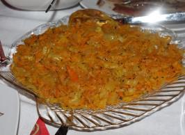 Салат с сельдью и шампиньонами