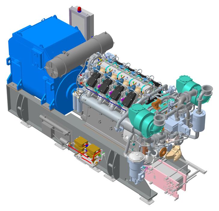 Спроектировано в КОМПАС-3D: «Звезда-Энергетика» изготовила серию отечественных дизель-генераторов