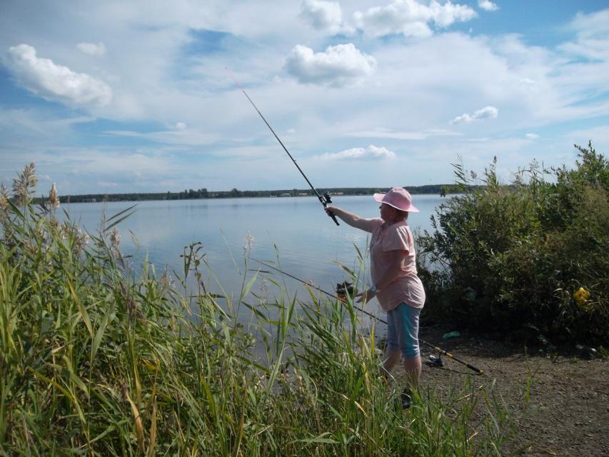то не рыбалка,а наслаждение