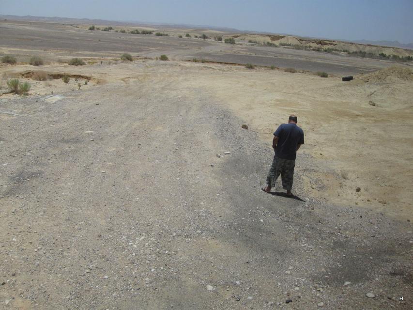 Туалет в пустыне...