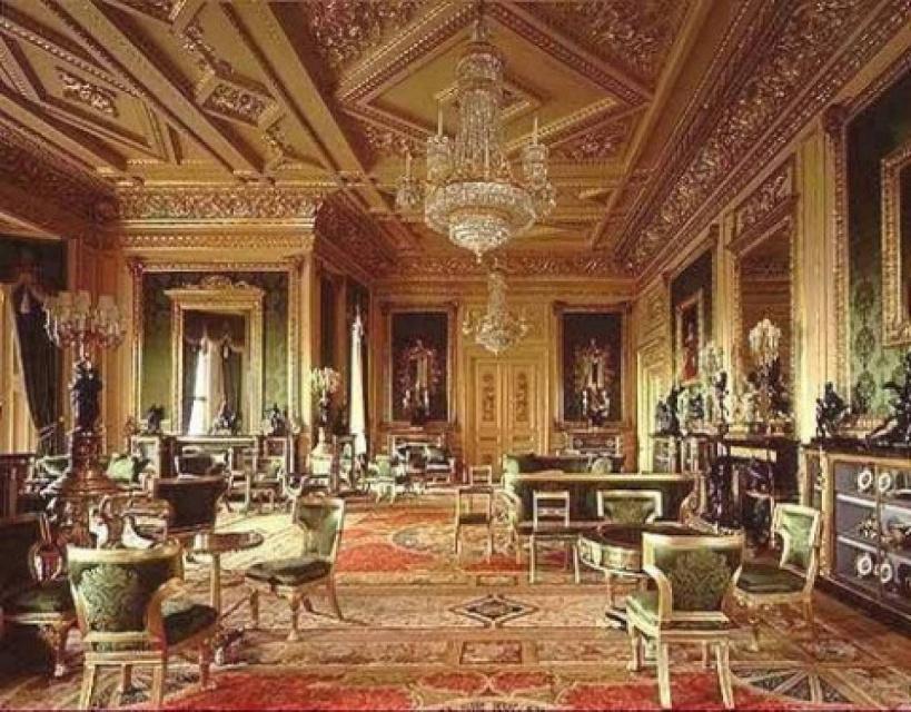 inside buckingham palace living quarters - HD1024×801