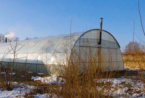 Варианты зимнего отопления теплицы