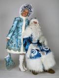 Дед Мороз и Снегурочка костюмы