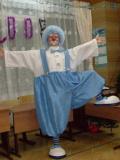 Клоун Снежинкин в полный рост