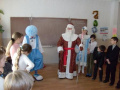 Новогоднее представление в классе средней школы