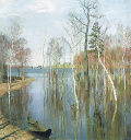 1723. Весною, при наступлении водополья...С. Т. Аксаков (1791 – 1859)