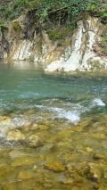 яма для купаний у родника на Скобидо
