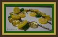 Лимонный браслет