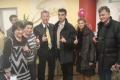 С Томом Мауером и спонсорами Татьяной Финк и Педро Лемосом ...