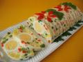 Желейный новогодний салат