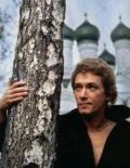 Игорь Старыгин в молодости (на фоне березы) (примерно, 1986 - 87 годы)
