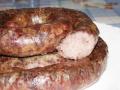 Украинская жареная колбаска, шпондер и паштетивка