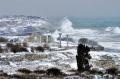 Крым, Херсонес. Зимний шторм