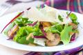 Салат из грибов и свеклы