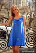 повседневные летние длинные платья
