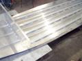 Строительство алюминиевой лодки.