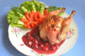 Цыплята Монморанси в вишневом соусе – рецепт на бис!