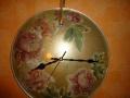 Переделки из старых предметов. Часы из крышки от сковороды