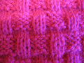 Продолговатая плетенка (уроки вязания спицами)