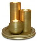 Набор интерьерных свечей Золото