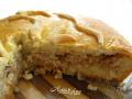 Пирог с рыбой и квашенной капустой