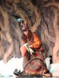 Баба Яга устраивает свои ловушки для зайцев