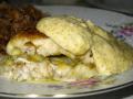 Стерлядь под соусом из щучьей икры (Русская кухня)