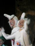 """Зайцы из спектакля """"Как зайцы Новый год спасали"""""""