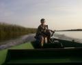 Удачная рыбалка Дениса (вот и бери с собой сына!)...