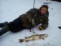 Отчеты о рыбалке, Москва - река, Зимний спиннинг