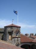 Средневековый замок Овернь, Х век, Франция (одна из сказочных достопримечательностей)